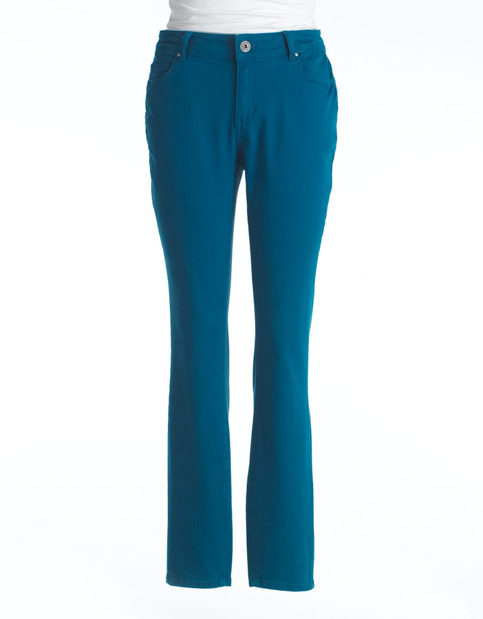 DKNY Womens Plus-Size Soho Skinny Jeans