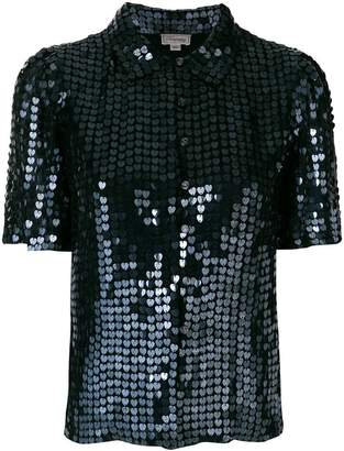 Temperley London Heart Charm blouse