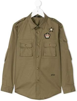 No.21 Kids military shirt