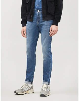 Brunello Cucinelli Faded slim-fit skinny jeans