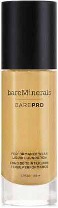bareMinerals BarePro Performance Wear Liquid Foundation $34 thestylecure.com