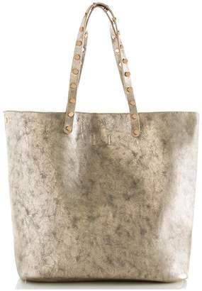Shiraleah Metallic Tote Bag
