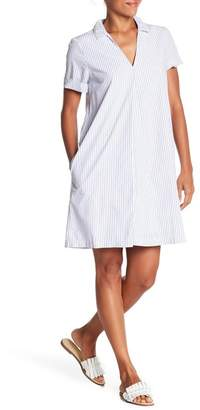 Madewell Swingout Striped Dress