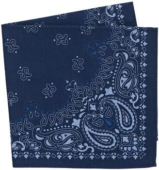Tommy Hilfiger Paisley-Print Silk Pocket Square