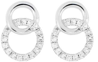 Carriere JEWELRY Interlocking Circle Earrings