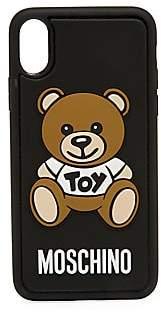 Moschino Women's iPhone X Bear Phone Case