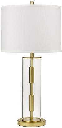 Catalina Lighting Glass Cylinder Table Lamp