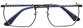 Marni Eyewear square shaped glasses