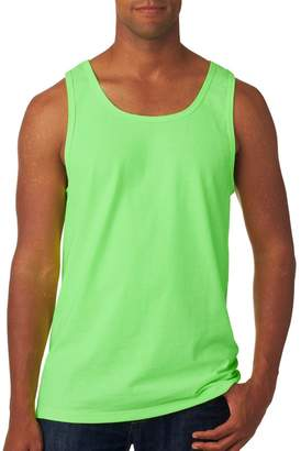 Fruit of the Loom Men's Two Needle Hemmed Bottom Tank