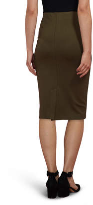 5twelve Solid Compression Jersey Midi Skirt