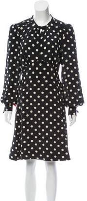Marc Jacobs Silk Knee-Length Dress