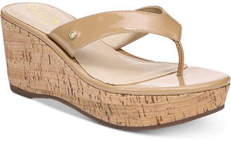 Sam Edelman Raquel Cork Wedge Sandals Women's Shoes