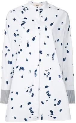 Ports 1961 splash print tunic shirt