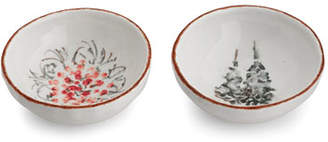 Arte Italica Natale Small Dipping Bowl Set