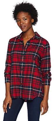 Pendleton Women's Petite Primary Flannel Shirt