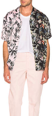 REPRESENT Viscose Camp Collar Shirt