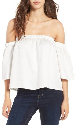 Women's Love, Fire Off The Shoulder Top $45 thestylecure.com
