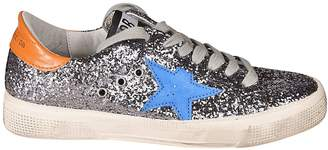 Golden Goose Superstar Glitter Coated Sneakers