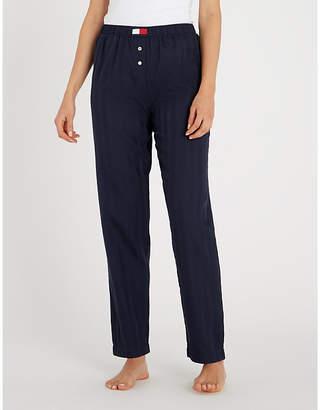 Tommy Hilfiger Striped cotton pyjama bottoms