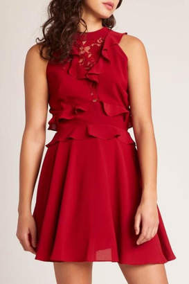 BB Dakota Crazy-In-Love Dress, Rouge