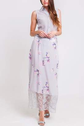 Sophie Cameron Davies Rose Maxi Skirt