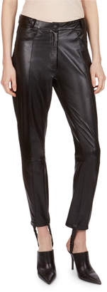 Magda Butrym Benson Leather Stirrup Pants