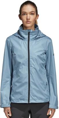 adidas Women's Wandertag Hooded Climaproof Rain Jacket