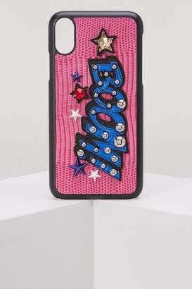 Dolce & Gabbana iPhone X cover