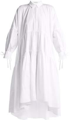 CECILIE BAHNSEN Cleo oversized cotton shirtdress