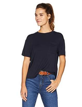 Daily Ritual Women's Jersey Short-Sleeve Boxy Pocket T-Shirt