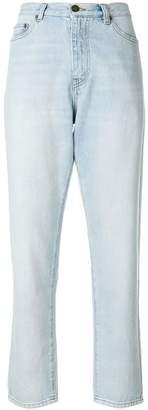 Saint Laurent Baggy high-waist jeans