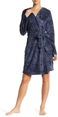 Maidenform Fleece Hooded Robe