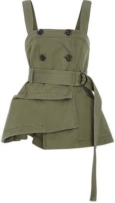 Marissa Webb Lani Trench Vest $425 thestylecure.com