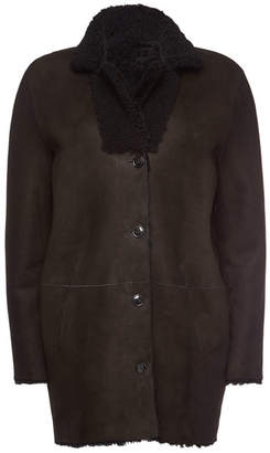 Closed Suede and Shearing Jacket