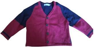 Christian Dior Burgundy Wool Knitwear