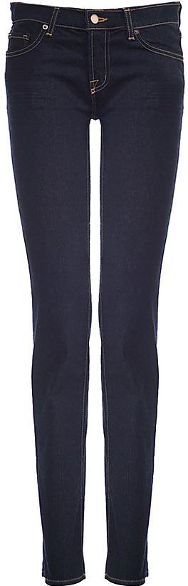 J BRAND Dark Blue Stove Pipe Jeans