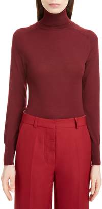Victoria Beckham Turtleneck Merino Wool Sweater
