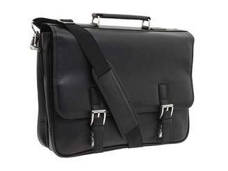 Kenneth Cole Reaction A Brief History - 5 Double Gusset Flapover Portfolio
