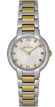Dreyfuss & Co Dreyfuss Womens Analogue Classic Quartz Watch with Stainless Steel Strap DLB00061/D/01