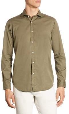 Polo Ralph Lauren Standard Fit Garment-Dyed Button-Down Shirt