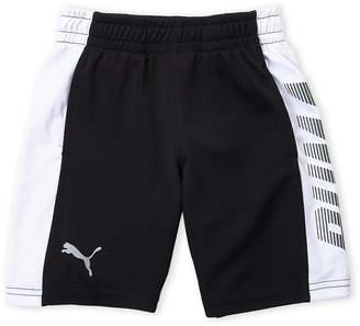 Puma Boys 4-7) Side Logo Mesh Athletic Shorts