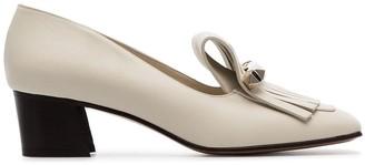 Valentino Garavani Uptown 45 fringed leather loafers