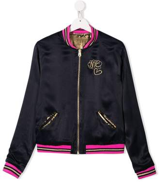 Little Marc Jacobs TEEN reversible bomber jacket