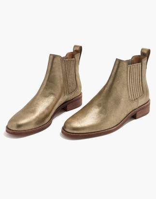 Madewell The Ainsley Chelsea Boot in Metallic