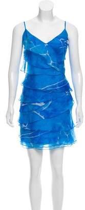 Ralph Lauren Tiered Silk Dress