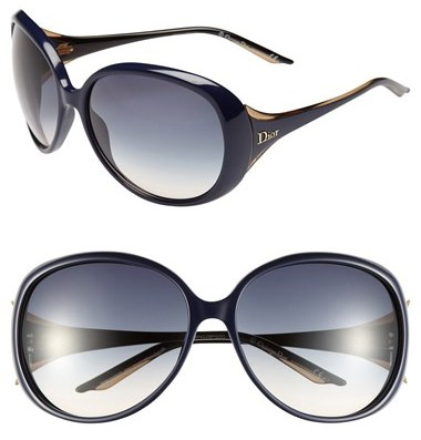 Dior 'Cocotte' 63mm Oversized Sunglasses