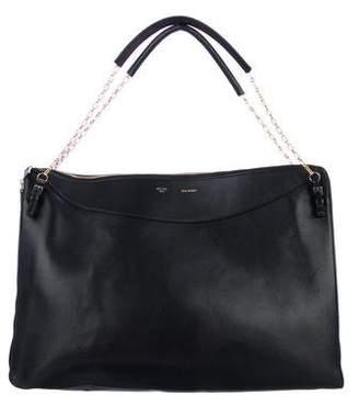 Celine Large Zip-Around Shoulder Bag