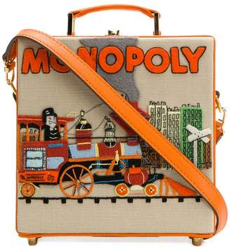 Olympia Le-Tan Monopoly Train clutch bag