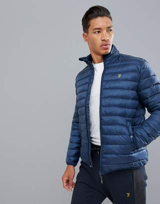 Farah Sport Shawland padded down jacket in navy