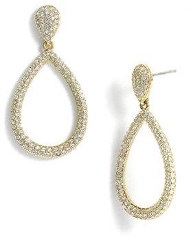 Women's Nadri Open Teardrop Earrings